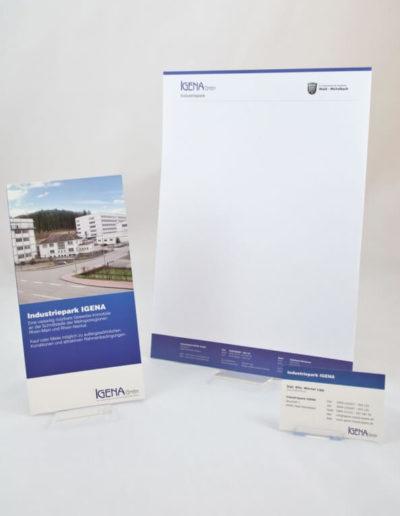 Corporate Design Igena GmbH